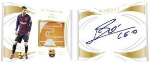 Patch Auto Booklet Lionel Messi