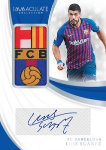 Patch Autographs Luis Suarez
