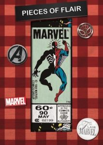Pieces of Flair Comic Corner Patch Spiderman