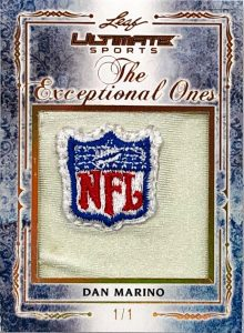 The Exceptional Ones Patch Dan Marino
