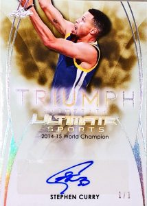 The Ultimate Triumph Signatures Stephen Curry