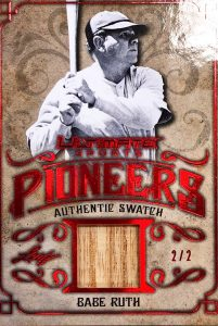 Ultimate Pioneers Relics Babe Ruth