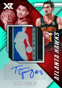 XR Rookie Jumbo Swatch Auto Trae Young