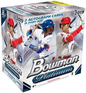 2019 Bowman Platinum