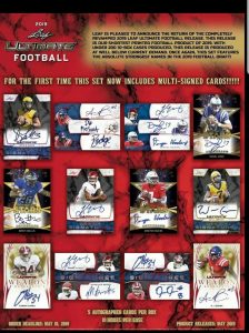 2019 Leaf Ultimate Football
