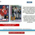 2019 Topps Chrome Baseball