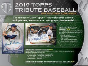 2019 Topps Tribute Baseball Card Checklist Checklistcentercom