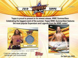 2019 Topps WWE SummerSlam