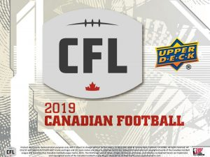 2019 Upper Deck CFL