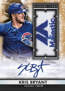 Authenticated Auto Jumbo Patch Kris Bryant