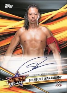Autos Shinsuke Nakamura