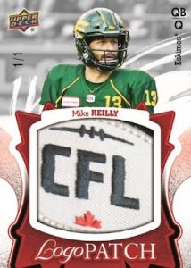 CFL Logo Patch Mike Reilly