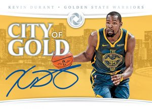 City of Gold Signatures Kevin Durant MOCK UP