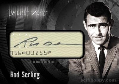 Cut Signatures Rod Serling