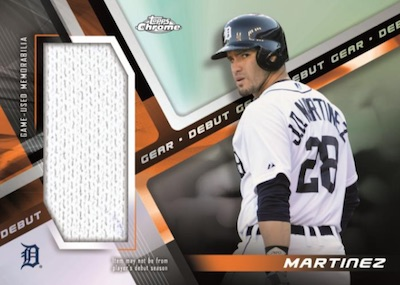 Debut Gear Relic JD Martinez MOCK UP