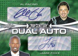 Dual Auto Al Pacino, Jamie Foxx