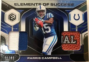 Elements of Success Relics Parris Campbell