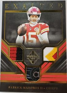 Exalted Triple Materials Patrick Mahomes II