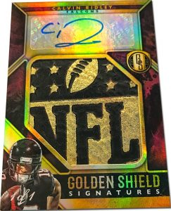 Golden Shield Signatures Calvin Ridley