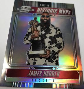 Historic MVPs James Harden