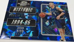 Historic Rookie of the Year Cracked Ice Blue Jason Kidd