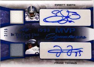 MVP Sigantures Emmitt Smith, Frank Thomas
