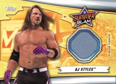 Mat Relics AJ Styles