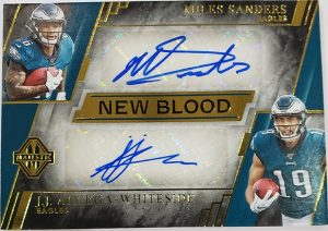 New Blood Dual Signatures Miles Sanders, JJ Arcega-Whiteside
