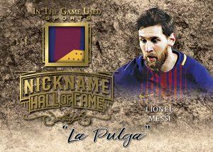 Nickname Hall of Fame Lionel Messi MOCK UP