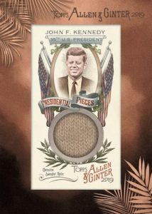 Presidential Pieces Framed Mini Relics John F. Kennedy
