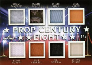 Prop Century 8 Relics Adam Sandler, David Spade, Chris Rock, Mike Myers, Eddie Murphy, Will Ferrell, Bill Murray, Chevy Chase MOCK UP