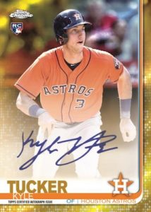 Rookie Auto Gold Refractor Kyle Tucker MOCK UP