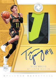 Rookie Patch Auto Trae Young MOCK UP