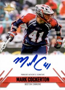 Signature Series Auto Mark Cockerton