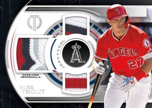 Single-Player Triple Relics Mike Trout MOCK UP
