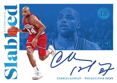 Slabbed Signatures Charles Barkley MOCK UP