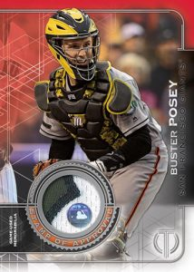 Stamp of Approval Authenticated Relics Buster Posey MOCK UP
