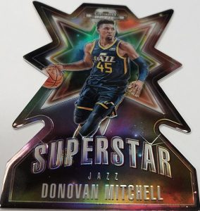 Superstar Die-Cuts Donovan Mitchell