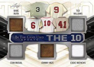 The 10 Relics MOCK UP Front