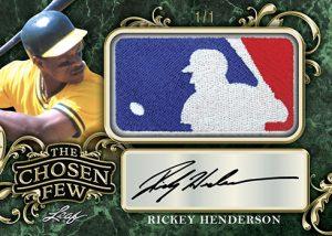 The Chosen Few Auto Ricky Henderson MOCK UP