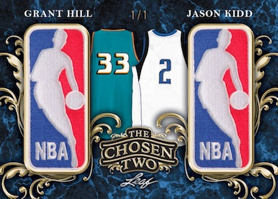The Chosen Two Relics Grant Hill, Jason Kidd MOCK UP