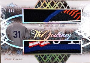 The Journey Dual Relics Mike Piazza