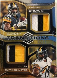 Transitions Materials Antonio Brown, JuJu Smith-Schuster