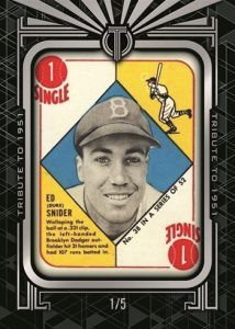 Tribute to 1951 Topps Framed Buyback Ed Snider MOCK UP