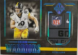 Unsung Warriors Materials Platinum TJ Watt
