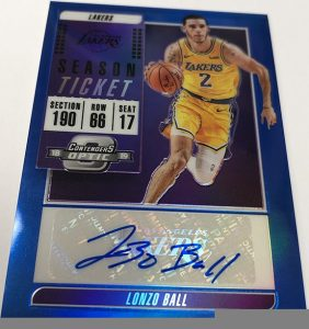 Veteran Ticket Auto Lonzo Ball