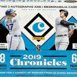 2019 Panini Chronicles Baseball