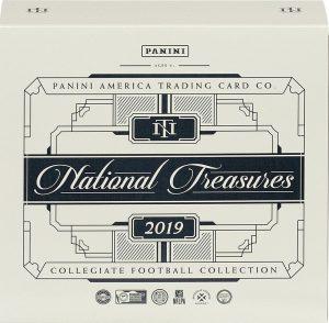 2019 Panini National Treasures Collegoate Football