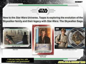 2019 Topps Star Wars Skywalker Saga