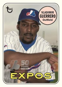 50th Anniversary of the Montreal Expos Vladimir Guerrero MOCK UP